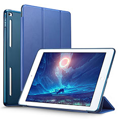 Schutzhülle Stand Tasche Leder L06 für Apple iPad Mini 4 Blau