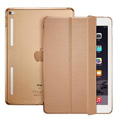 Schutzhülle Stand Tasche Leder L06 für Apple iPad Mini 4 Braun