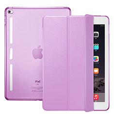 Schutzhülle Stand Tasche Leder L06 für Apple iPad Mini 4 Rosa