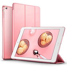 Schutzhülle Stand Tasche Leder L06 für Apple iPad Mini Rosa
