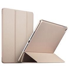 Schutzhülle Stand Tasche Leder L08 für Apple iPad Mini 4 Gold