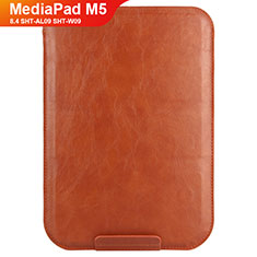 Schutzhülle Stand Tasche Leder L08 für Huawei MediaPad M5 8.4 SHT-AL09 SHT-W09 Braun