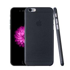 Schutzhülle Ultra Dünn Handyhülle Hülle Durchsichtig Transparent Matt für Apple iPhone 6 Dunkelgrau
