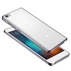 Schutzhülle Ultra Dünn Handyhülle Hülle Durchsichtig Transparent Tasche für Xiaomi Mi Note Grau