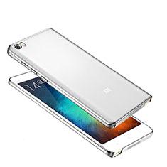 Schutzhülle Ultra Dünn Handyhülle Hülle Durchsichtig Transparent Tasche für Xiaomi Mi Note Silber