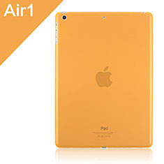 Schutzhülle Ultra Dünn Hülle Durchsichtig Transparent Matt für Apple iPad Air Orange