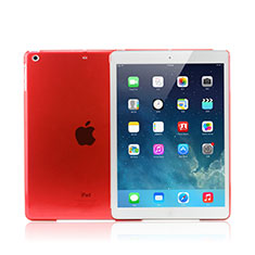 Schutzhülle Ultra Dünn Hülle Durchsichtig Transparent Matt für Apple iPad Mini 3 Rot