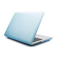 Schutzhülle Ultra Dünn Hülle Durchsichtig Transparent Matt für Apple MacBook Pro 13 zoll Blau