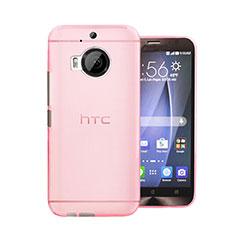 Schutzhülle Ultra Dünn Hülle Durchsichtig Transparent Matt für HTC One M9 Plus Rosa