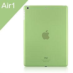 Schutzhülle Ultra Dünn Tasche Durchsichtig Transparent Matt für Apple iPad Air Grün