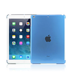 Schutzhülle Ultra Dünn Tasche Durchsichtig Transparent Matt für Apple iPad Mini 2 Hellblau