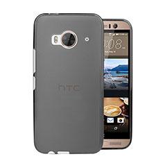 Schutzhülle Ultra Dünn Tasche Durchsichtig Transparent Matt für HTC One Me Grau