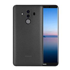 Schutzhülle Ultra Dünn Tasche Durchsichtig Transparent Matt für Huawei Mate 10 Pro Schwarz