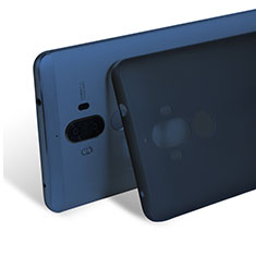 Schutzhülle Ultra Dünn Tasche Durchsichtig Transparent Matt für Huawei Mate 9 Blau