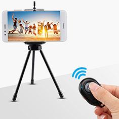 Selfie Stick Stange Bluetooth Teleskop Universal S26 für Sony Xperia XA2 Schwarz