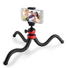 Selfie Stick Stange Stativ Bluetooth Teleskop Universal T01 für Sony Xperia 1 Schwarz