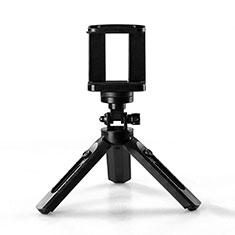 Selfie Stick Stange Stativ Bluetooth Teleskop Universal T02 für Huawei Nova 8 SE 5G Schwarz