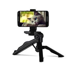Selfie Stick Stange Stativ Bluetooth Teleskop Universal T06 für Huawei Nova 8 SE 5G Schwarz