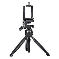 Selfie Stick Stange Stativ Bluetooth Teleskop Universal T08 für Huawei Nova 8 SE 5G Schwarz