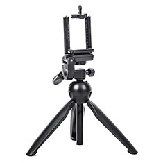 Selfie Stick Stange Stativ Bluetooth Teleskop Universal T08 für Sony Xperia XA2 Schwarz