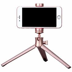 Selfie Stick Stange Stativ Bluetooth Teleskop Universal T10 für Sony Xperia 1 Rosegold