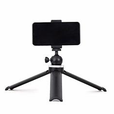 Selfie Stick Stange Stativ Bluetooth Teleskop Universal T14 für Huawei Nova 8 SE 5G Schwarz