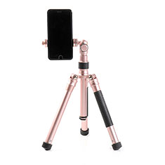 Selfie Stick Stange Stativ Bluetooth Teleskop Universal T15 für Sony Xperia 1 Rosegold