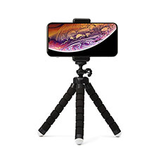 Selfie Stick Stange Stativ Bluetooth Teleskop Universal T16 für Huawei Nova 8 SE 5G Schwarz