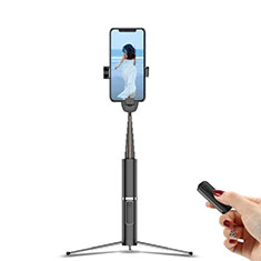 Selfie Stick Stange Stativ Bluetooth Teleskop Universal T20 für Huawei Nova 8 SE 5G Schwarz