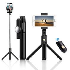 Selfie Stick Stange Stativ Bluetooth Teleskop Universal T22 für Huawei Nova 8 SE 5G Schwarz