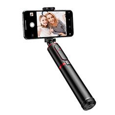 Selfie Stick Stange Stativ Bluetooth Teleskop Universal T23 für Sony Xperia XA2 Schwarz