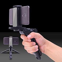 Selfie Stick Stange Verdrahtet Teleskop Universal S21 für Google Pixel 3 Schwarz
