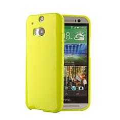 Silikon Hülle Gummi Schutzhülle für HTC One M8 Grün