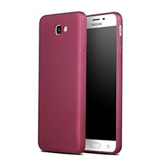 Silikon Hülle Gummi Schutzhülle für Samsung Galaxy J7 Prime Rot