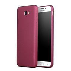 Silikon Hülle Gummi Schutzhülle für Samsung Galaxy On7 (2016) G6100 Rot