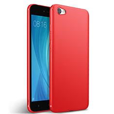 Silikon Hülle Gummi Schutzhülle für Xiaomi Redmi Note 5A Standard Edition Rot
