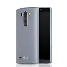 Silikon Hülle Gummi Schutzhülle Matt für LG G3 Weiß