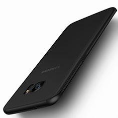 Silikon Hülle Gummi Schutzhülle Matt für Samsung Galaxy S7 Edge G935F Schwarz