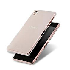 Silikon Hülle Gummi Schutzhülle Matt für Sony Xperia Z3 Weiß
