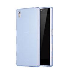 Silikon Hülle Gummi Schutzhülle Matt für Sony Xperia Z5 Blau