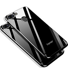 Silikon Hülle Gummi Schutzhülle Spiegel Q01 für Huawei Honor 9 Lite Schwarz