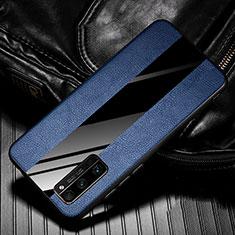 Silikon Hülle Handyhülle Gummi Schutzhülle Flexible Leder Tasche für Huawei Honor 30 Pro Blau