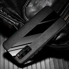 Silikon Hülle Handyhülle Gummi Schutzhülle Flexible Leder Tasche für Huawei Honor 30 Pro Schwarz
