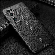 Silikon Hülle Handyhülle Gummi Schutzhülle Flexible Leder Tasche für Huawei Honor 30 Schwarz