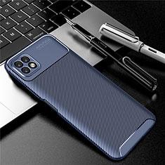 Silikon Hülle Handyhülle Gummi Schutzhülle Flexible Tasche Köper für Huawei Enjoy 20 5G Blau