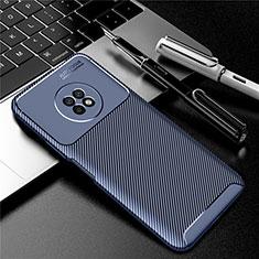 Silikon Hülle Handyhülle Gummi Schutzhülle Flexible Tasche Köper für Huawei Enjoy 20 Plus 5G Blau