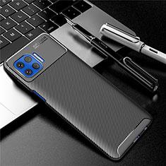 Silikon Hülle Handyhülle Gummi Schutzhülle Flexible Tasche Köper für Motorola Moto G 5G Plus Schwarz