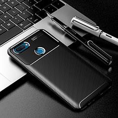 Silikon Hülle Handyhülle Gummi Schutzhülle Flexible Tasche Köper für Oppo A12 Schwarz