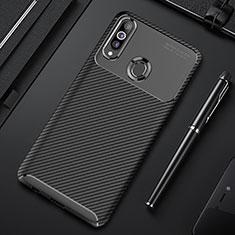 Silikon Hülle Handyhülle Gummi Schutzhülle Flexible Tasche Köper für Samsung Galaxy A20s Schwarz