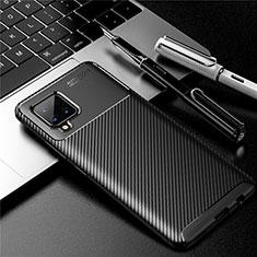 Silikon Hülle Handyhülle Gummi Schutzhülle Flexible Tasche Köper für Samsung Galaxy A42 5G Schwarz